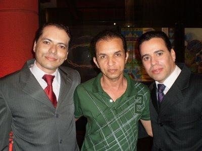 Laci Araújo, Valdeck Almeida e Fernando Alcântara