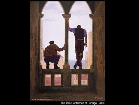 The two gentlemen of Portugal - Steve Walker