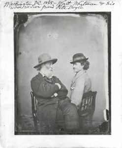 Walt Whitman & Peter Doyle