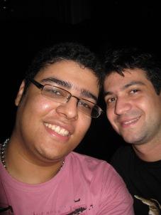 eu e um amigo