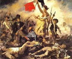 Liberdade Guiando o Povo - Delacroix
